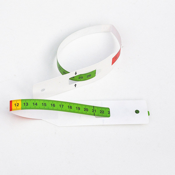 Water Proof Children Baby MID-Upper Arm Circumfrence Muac Meauring Tape