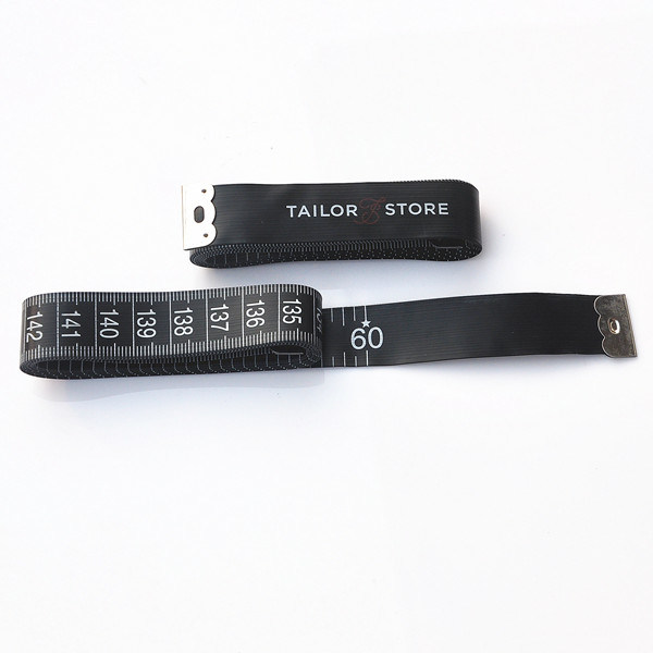 150cm/60inch Black Tape Measure (Cm and Inch)