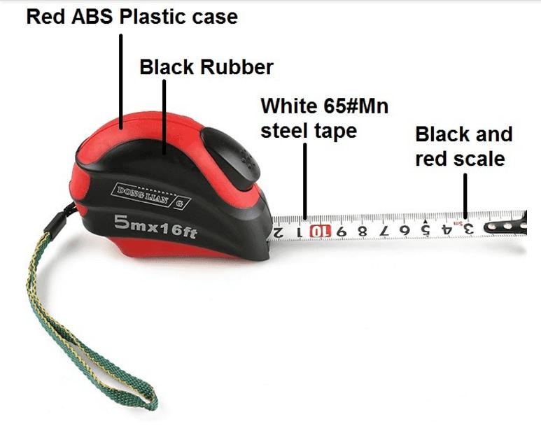 customized steel Wintape steel scale ruler