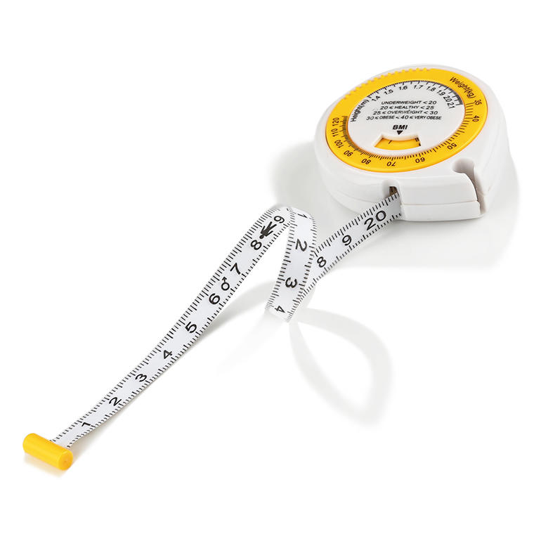 Body Mass Index Measuring Tape