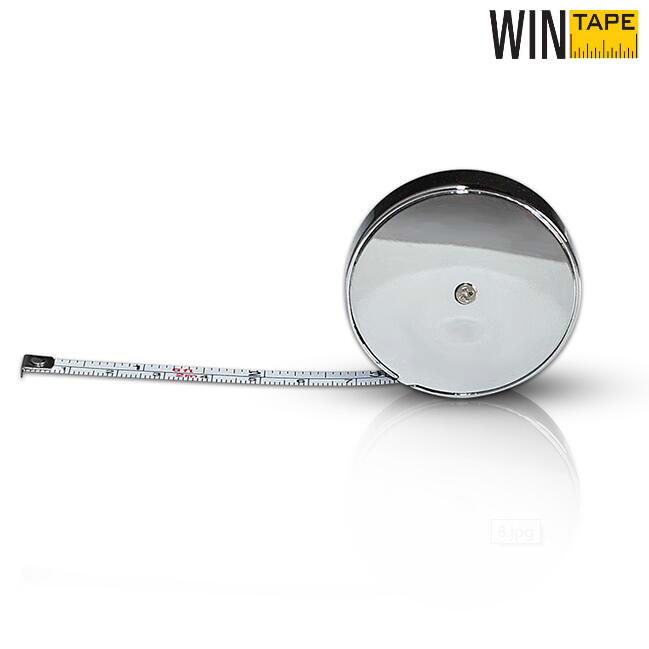 Zinc Alloy 2M  Round Steel Tape Measure