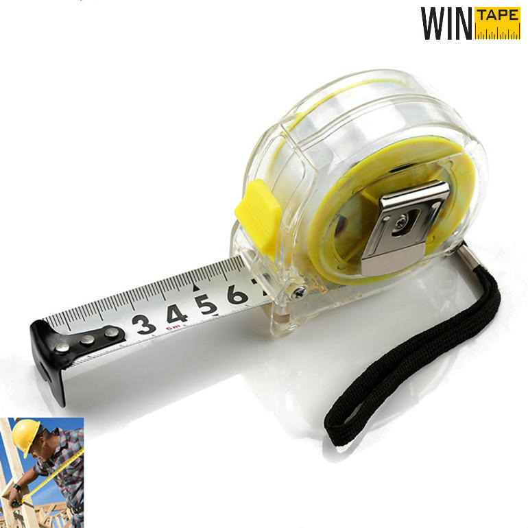 Transparent Steel Tape Measure