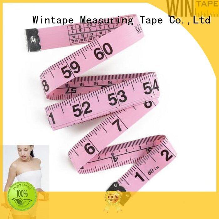 Wintape Brand 200cm fiberglass 80inch tailor measurements manufacture