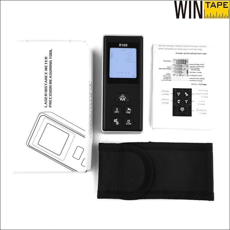 100m Digital Laser Measuring Tape