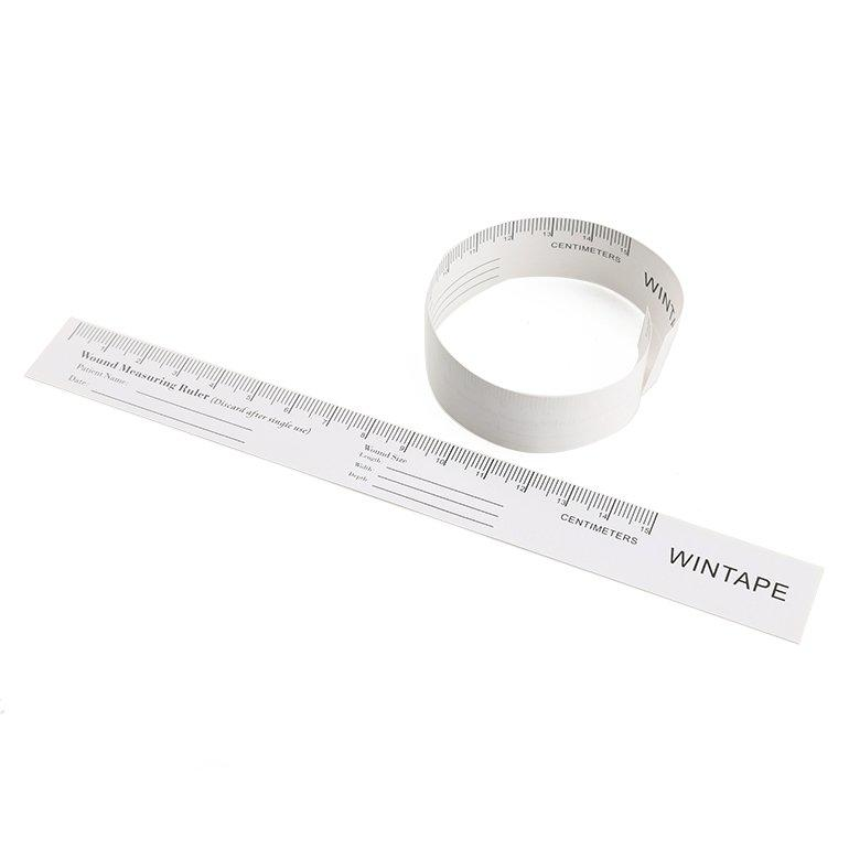 Custom wound measuring guide paper ruler wound Wintape