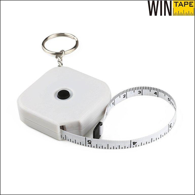 Keychain Retractable Tape Measure