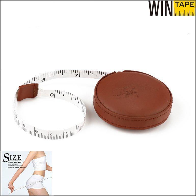 Brown PU Covered Custom Tape Measure