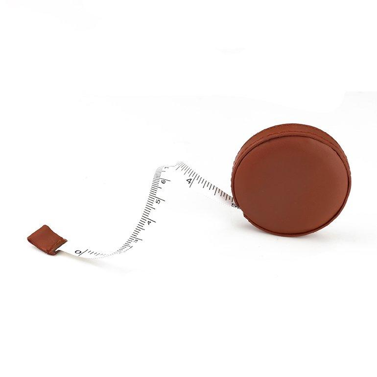 Brown PU Covered Custom Tape Measure