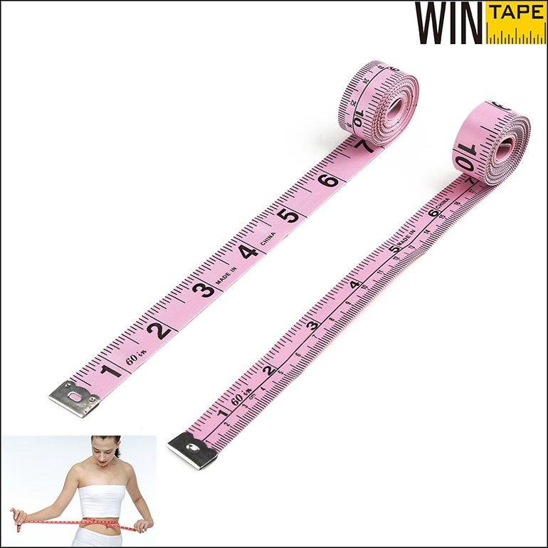 Pink Seamstress Measuring Tape