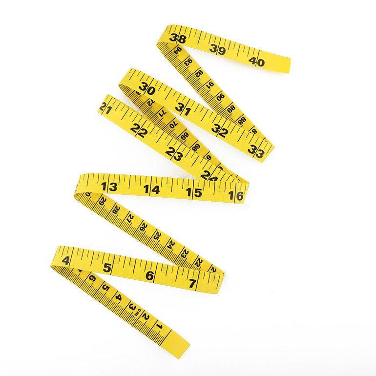 1m Yellow Tailor Tape Ruler