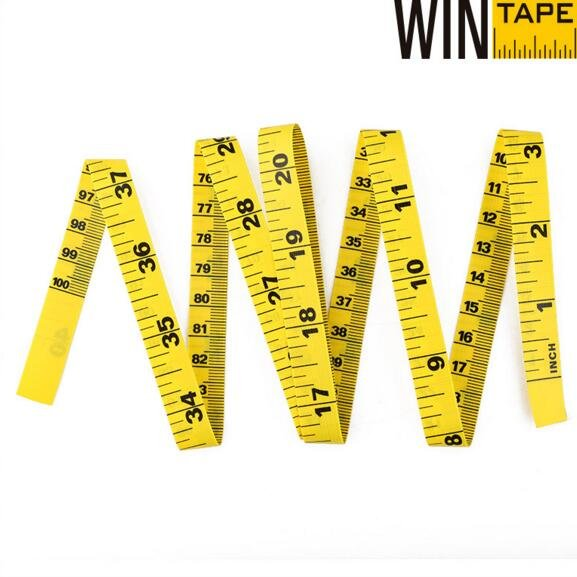 Wintape 1m Yellow Tailor Tape Ruler Tailor Tape image2