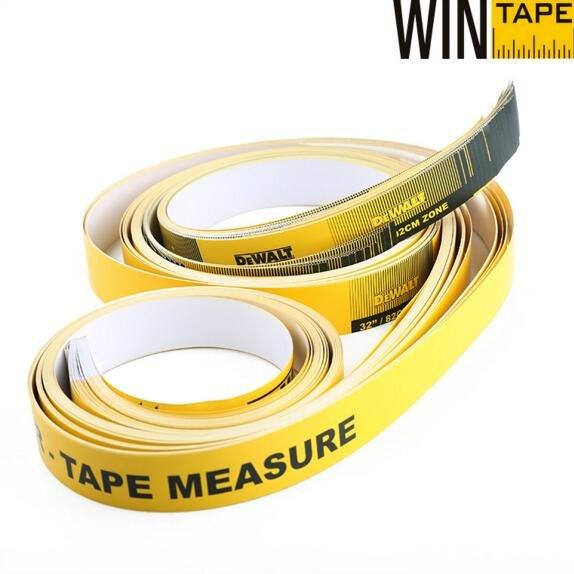 Custom Dewalt Paper Tape Measures