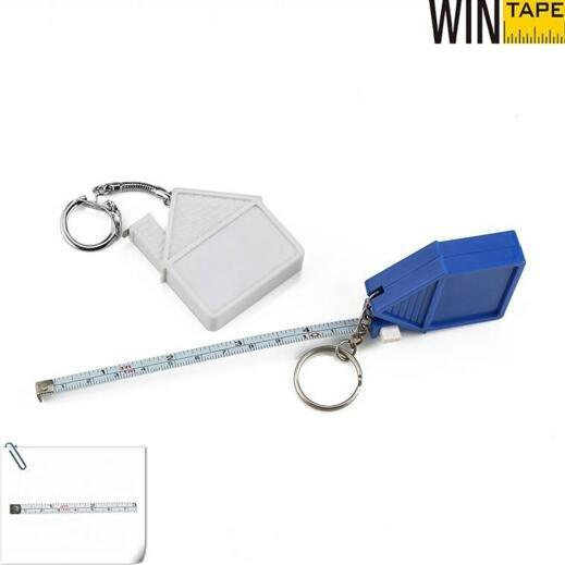 Wintape House Shaped Measure Tape with Keychain