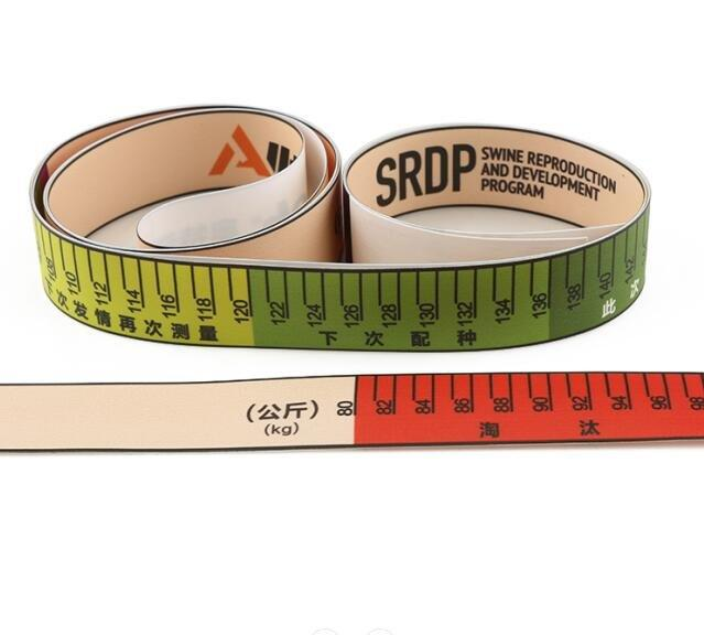 Custom Cow Pig Weight Tape Measure