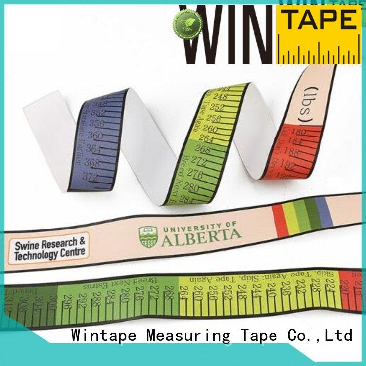pig tape weighing Wintape Brand pig tape manufacture