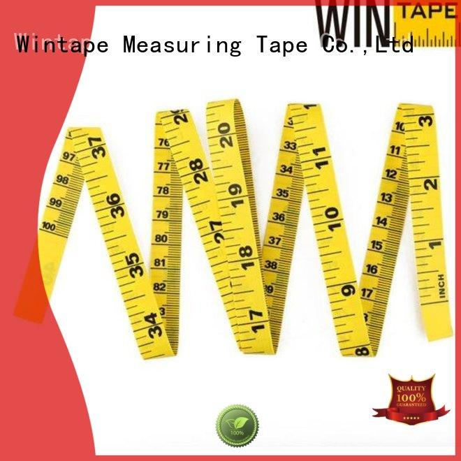 Hot yellow digital tape measure cloth Wintape Brand