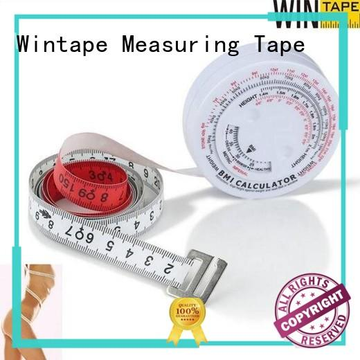 Wintape body best body tape measure for measuring body cloth customized