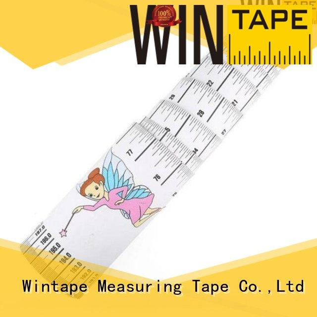 height measuring stick 2m Wintape Brand height measuring tape for wall