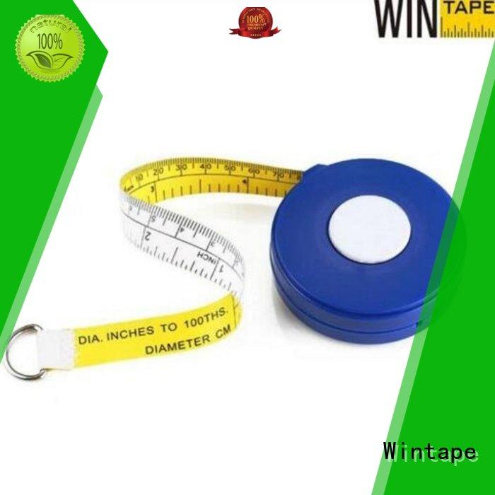 Wintape new arrival measure pipe diameter keychain measure for home