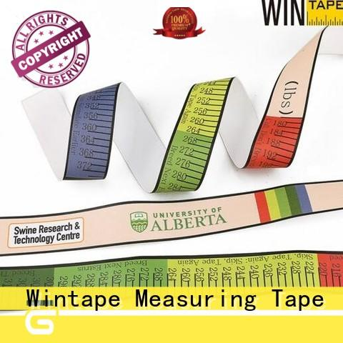 Wintape hog goat weight tape adult head circumference for parents