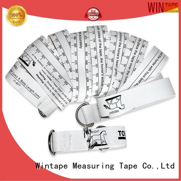 measuring pony horse OEM horse weight tape Wintape