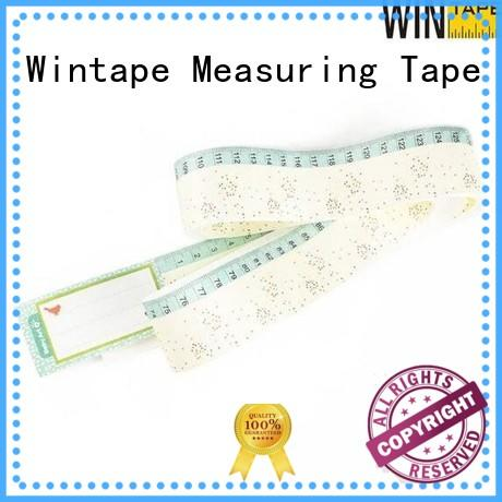 Wintape paper paper tape for wounds Promotional Items for measuring