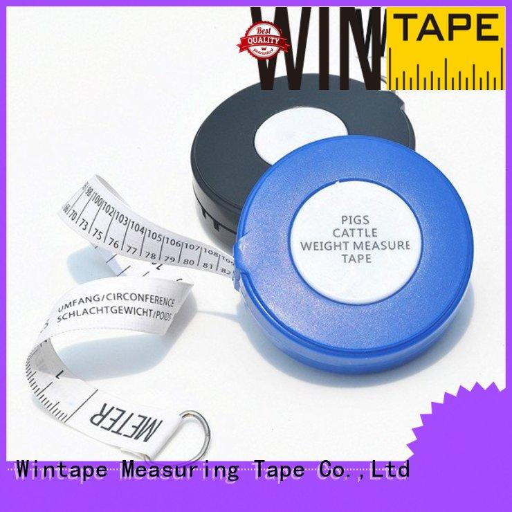 Wintape Brand pig cattle pig tape weight supplier
