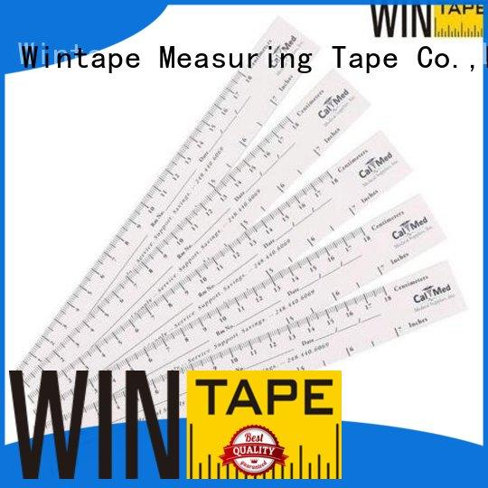 Wintape ruler wound measuring ruler record patient name for home