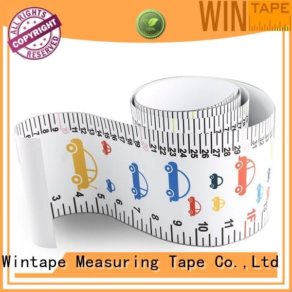 Wintape Brand ruler tape height measuring stick growth supplier