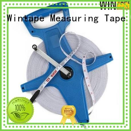 Wintape 100ft surveyors measuring rod record wound length for measuring