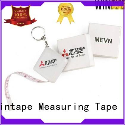 hot sale keyring tape measure customized sewing tape measure for workhouse