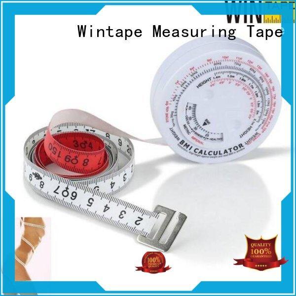 Wintape gradely fitness measuring tape for measuring waist for wedding dress