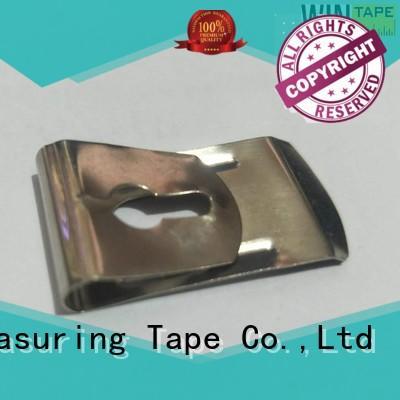 customized hot sale steel tape measure belt clip Wintape