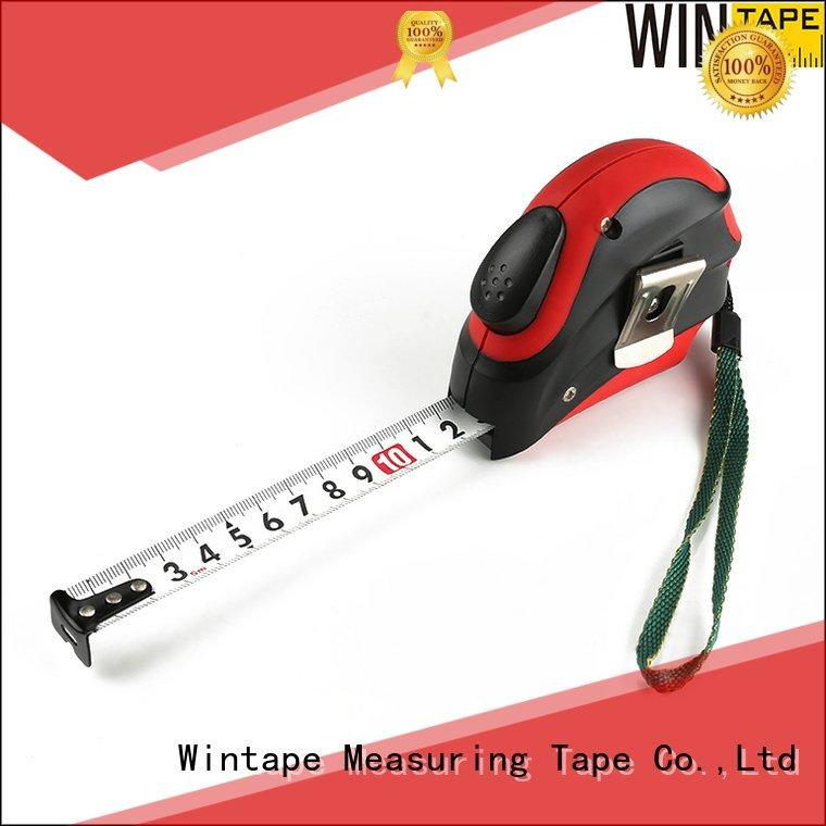 Custom steel tape measure customized tape autolock Wintape