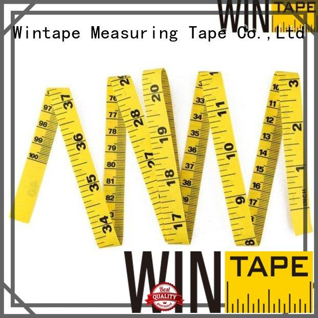 digital tape measure inches centimeters Wintape Brand tailor measurements