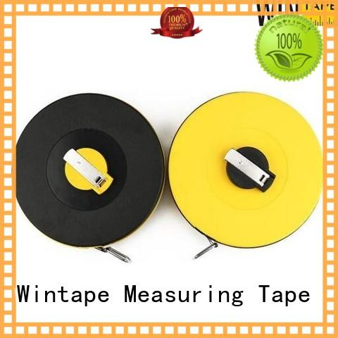 Wintape industry-leading surveyors measuring rod record wound length for daily