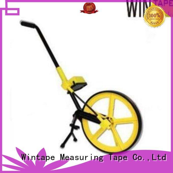 Wintape Brand distance digital walking measuring wheel manufacture