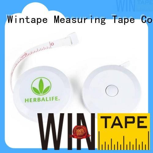 Wintape ruler keyring tape measure keychain measure for factory