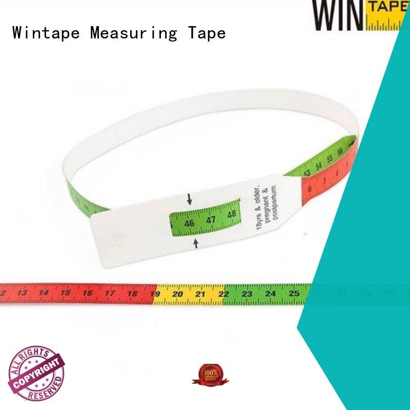 Wintape new arrival muac tape children head circumference for aldult