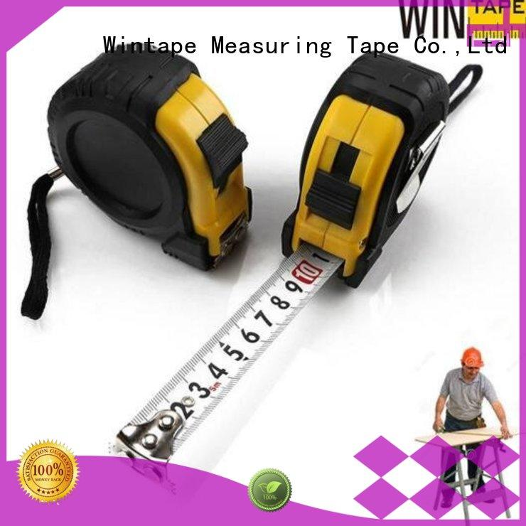 Hot contractors steel scale ruler personalized Wintape Brand