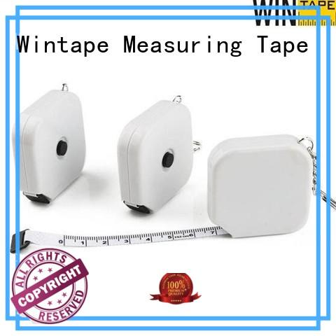 Wintape sewing keyring tape measure leather tape measure for daily
