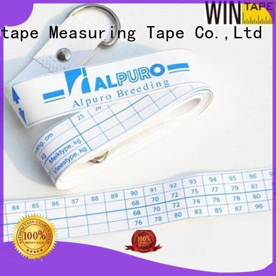 Wintape Brand measuring tape hands printed horse weight tape