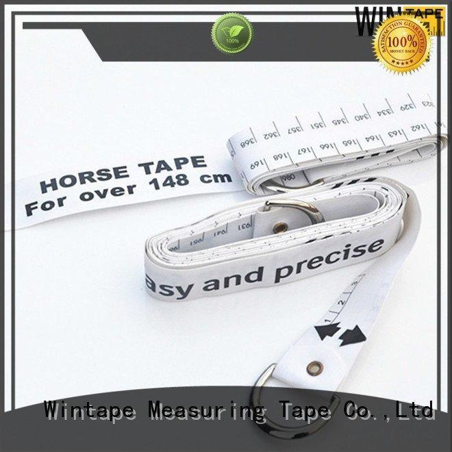 weighing tape logo printed Wintape horse height measuring tape