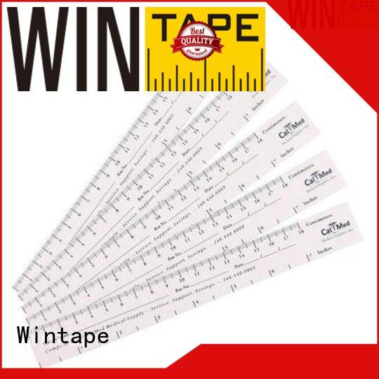 Wintape rulers wound measuring ruler record wound depth for home