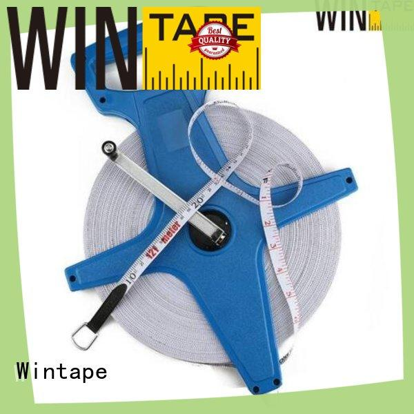 30meter surveyors steel tape measure fiberglass for home Wintape