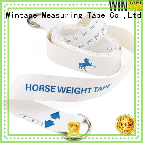 Wintape Brand hands horse weight tape professional factory