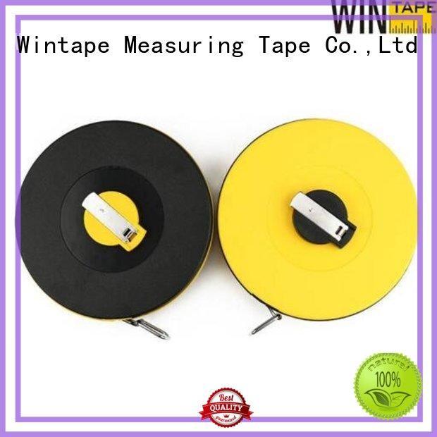 Hot tape surveyors steel tape measure measure closedreel Wintape Brand