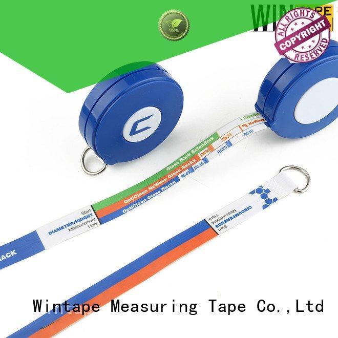 Hot latex free medical tape printable retractable tape measure medical measure Wintape