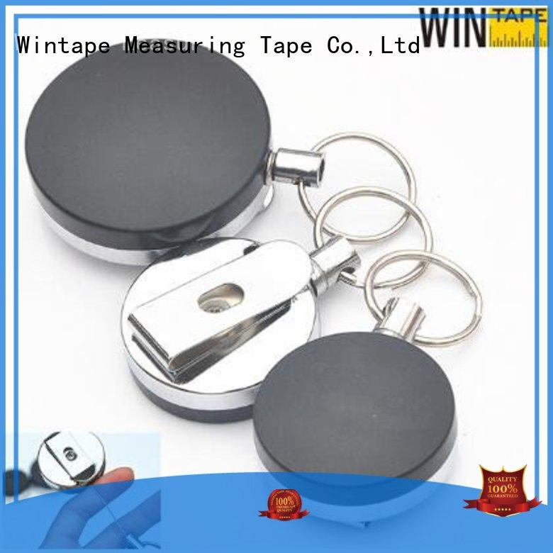 cute card OEM retractable badge reel Wintape