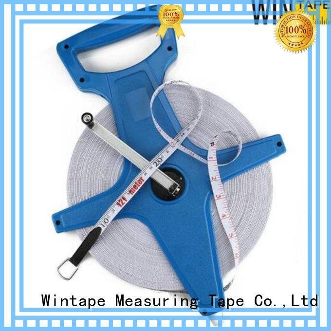 Wintape Brand 30meter surveyors measures surveyors steel tape measure manufacture
